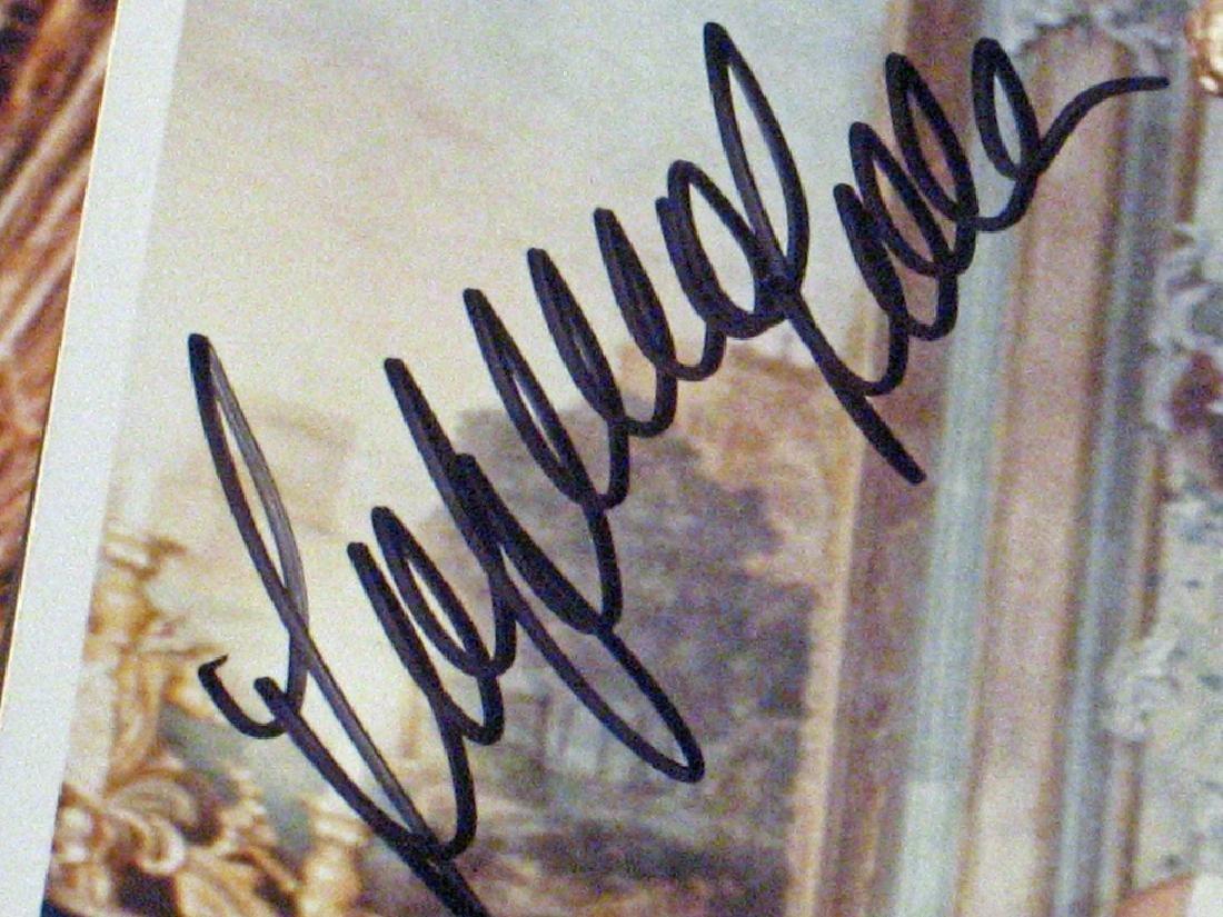 Sophia Loren Autograph Lot - 4