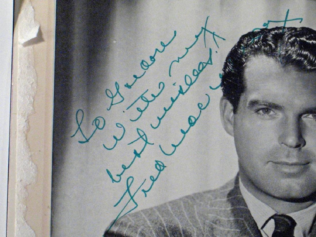 Fred Macmurray Autograph Lot - 2