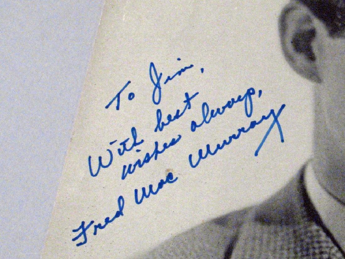 Fred Macmurray Autograph Lot - 3