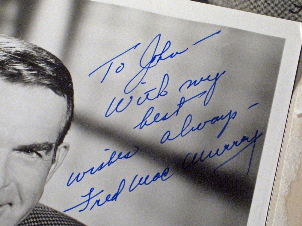 Fred Macmurray Autograph Lot - 4