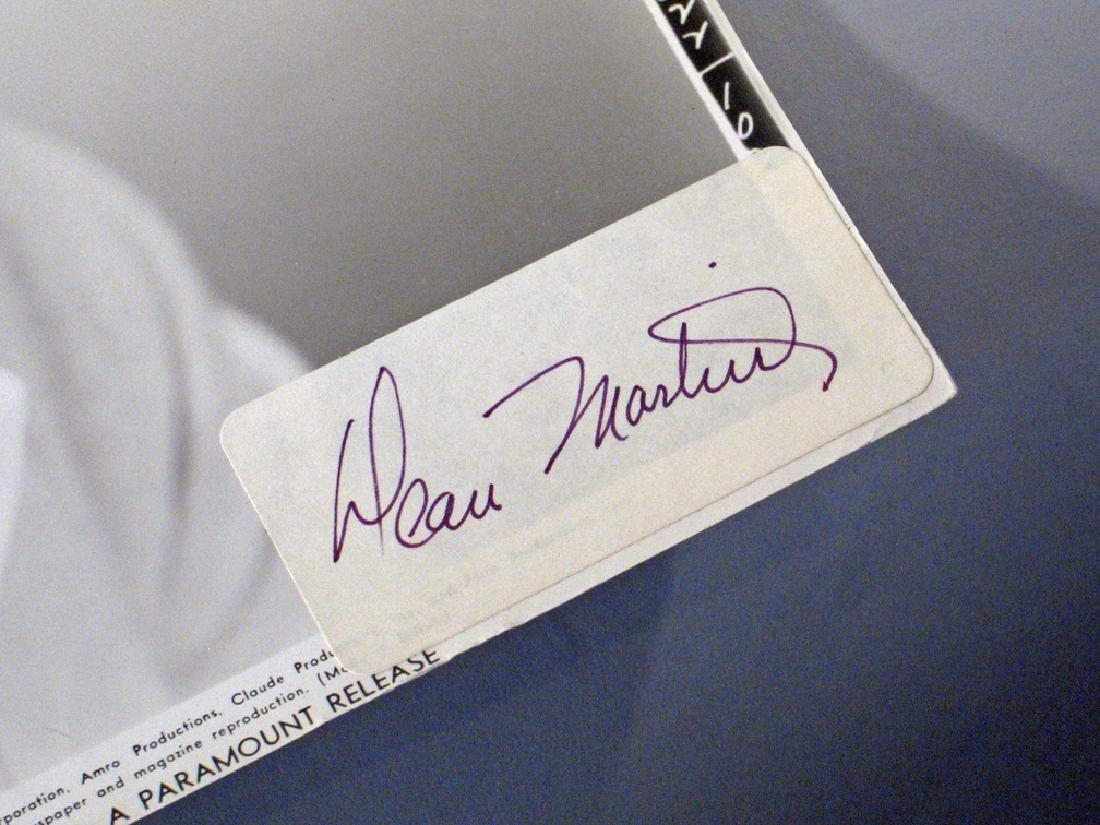 Dean Martin Autograph Lot - 2