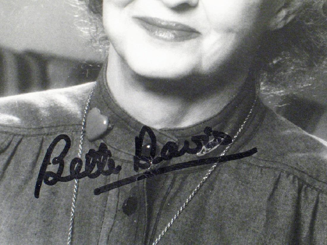 Bette Davis Autograph Lot - 2