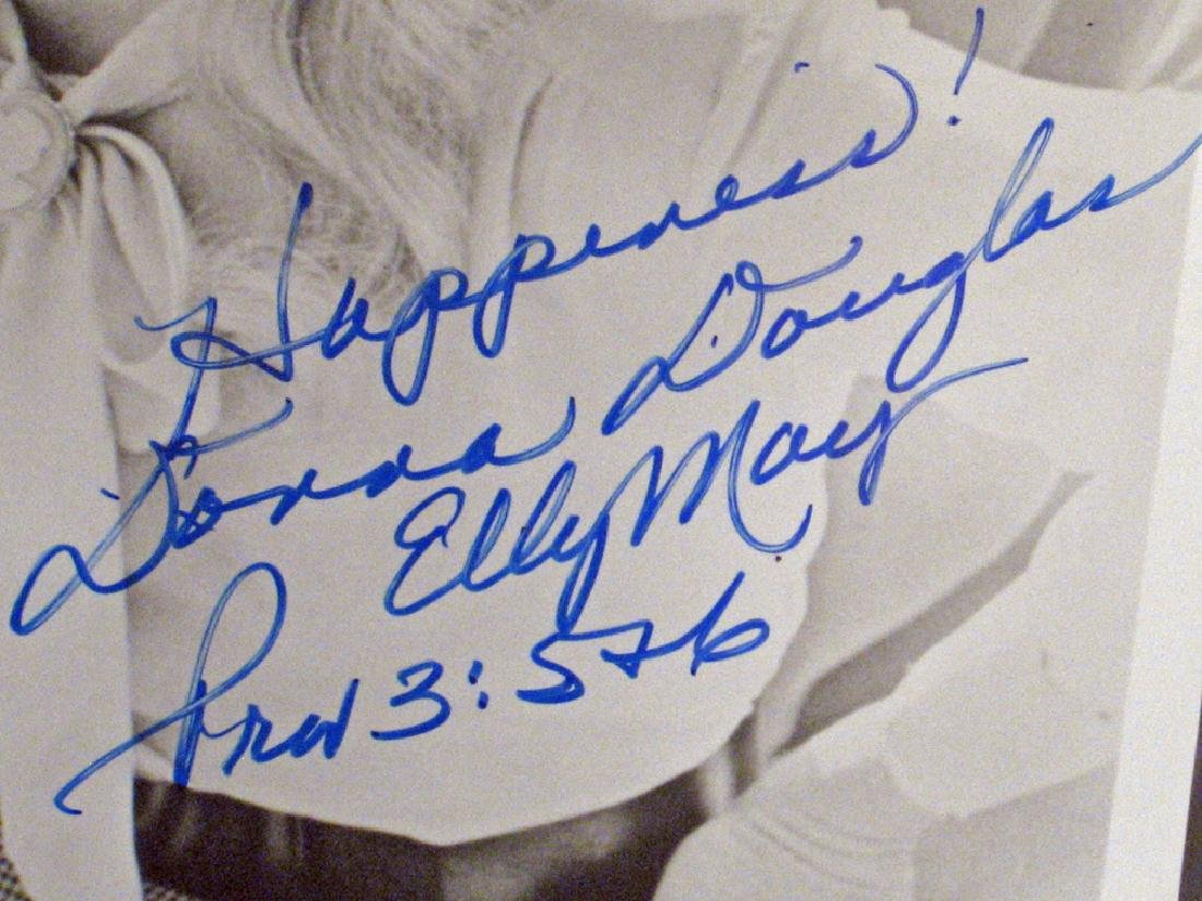 Donna Douglas Beverly Hillbillies Star Autograph Lot - 2