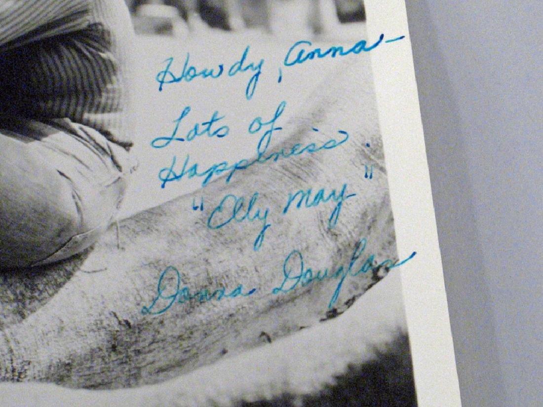 Donna Douglas Beverly Hillbillies Star Autograph Lot - 3
