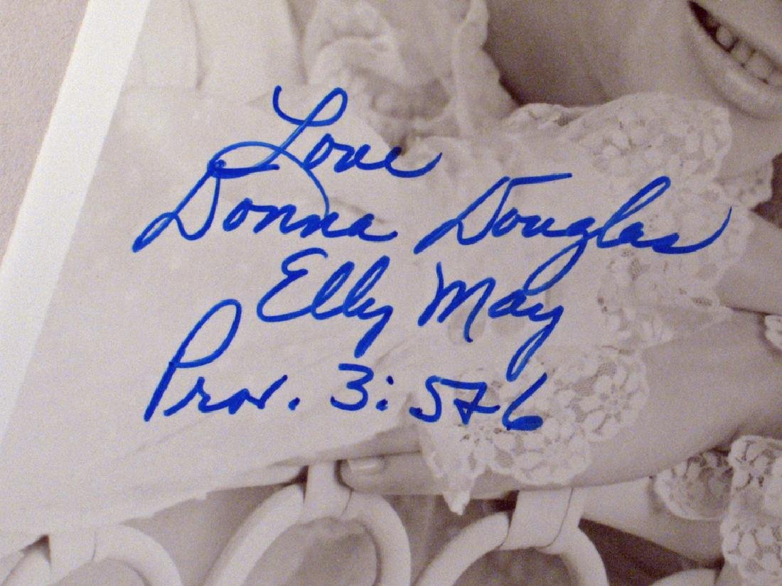 Donna Douglas Beverly Hillbillies Star Autograph Lot - 5