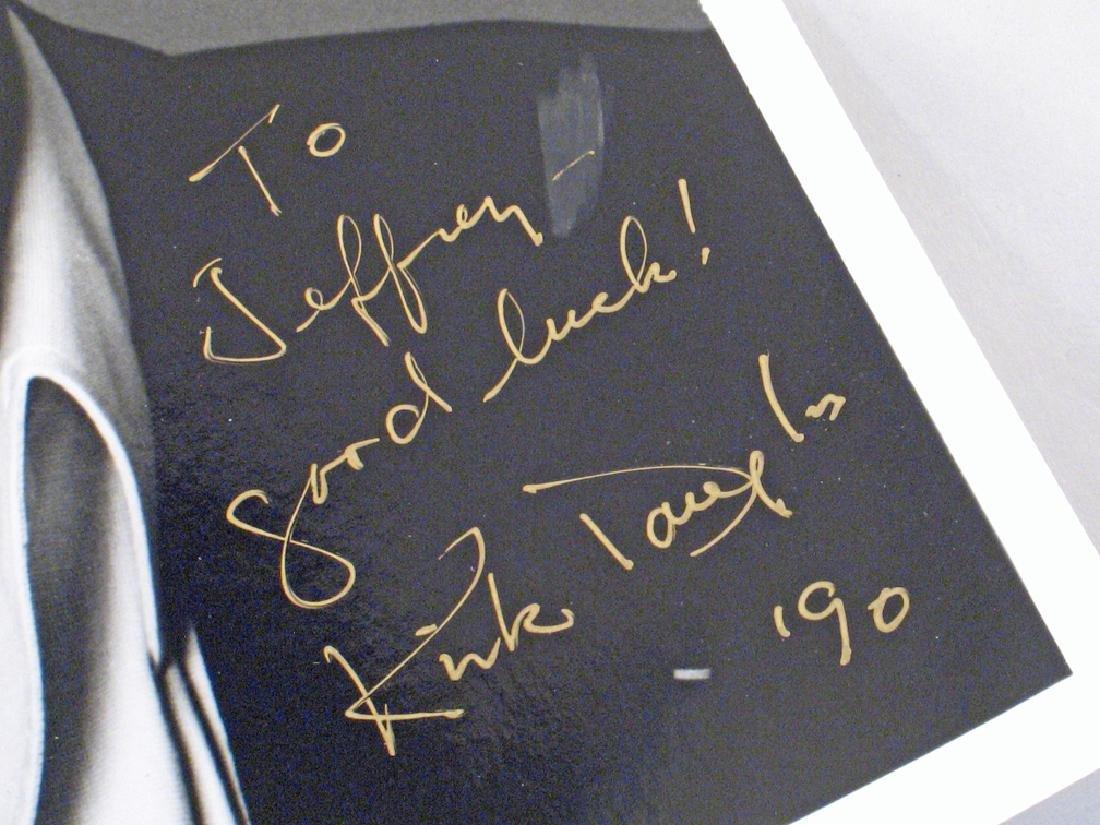 Kirk Douglas Autograph Lot - 3