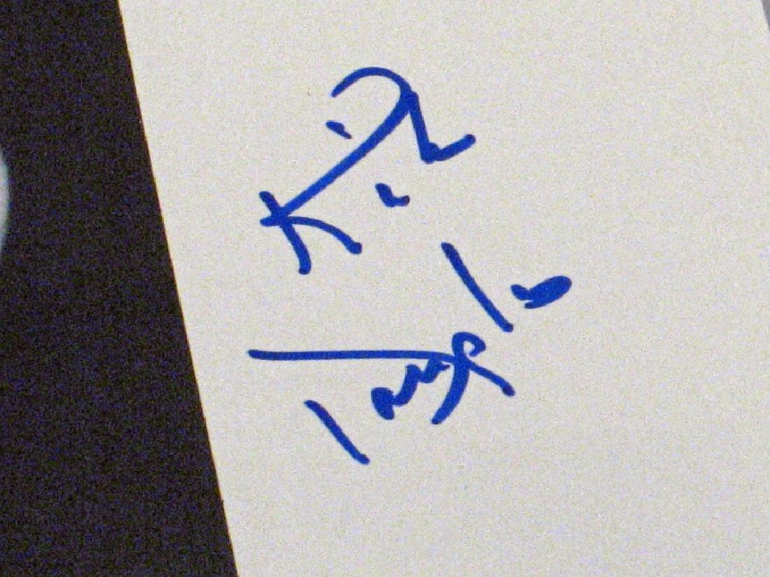 Kirk Douglas Autograph Lot - 4