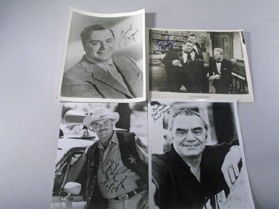 Ernest Borgnine Autograph