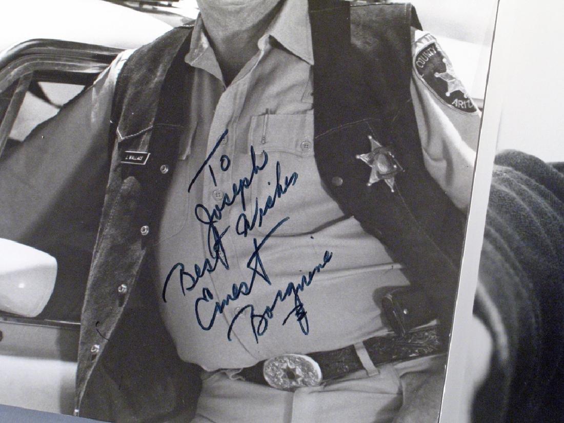 Ernest Borgnine Autograph - 2