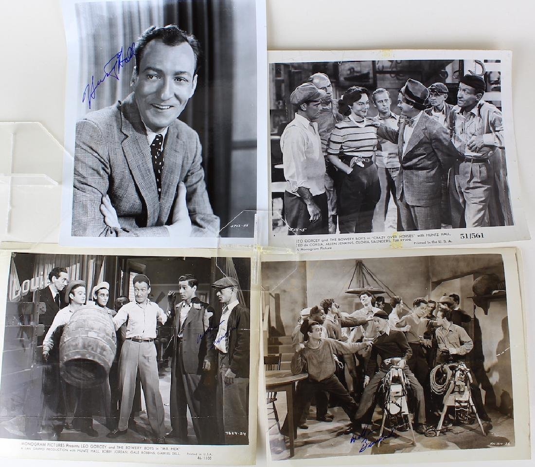 The Bowery Boys Signed 8 x10 Glossies