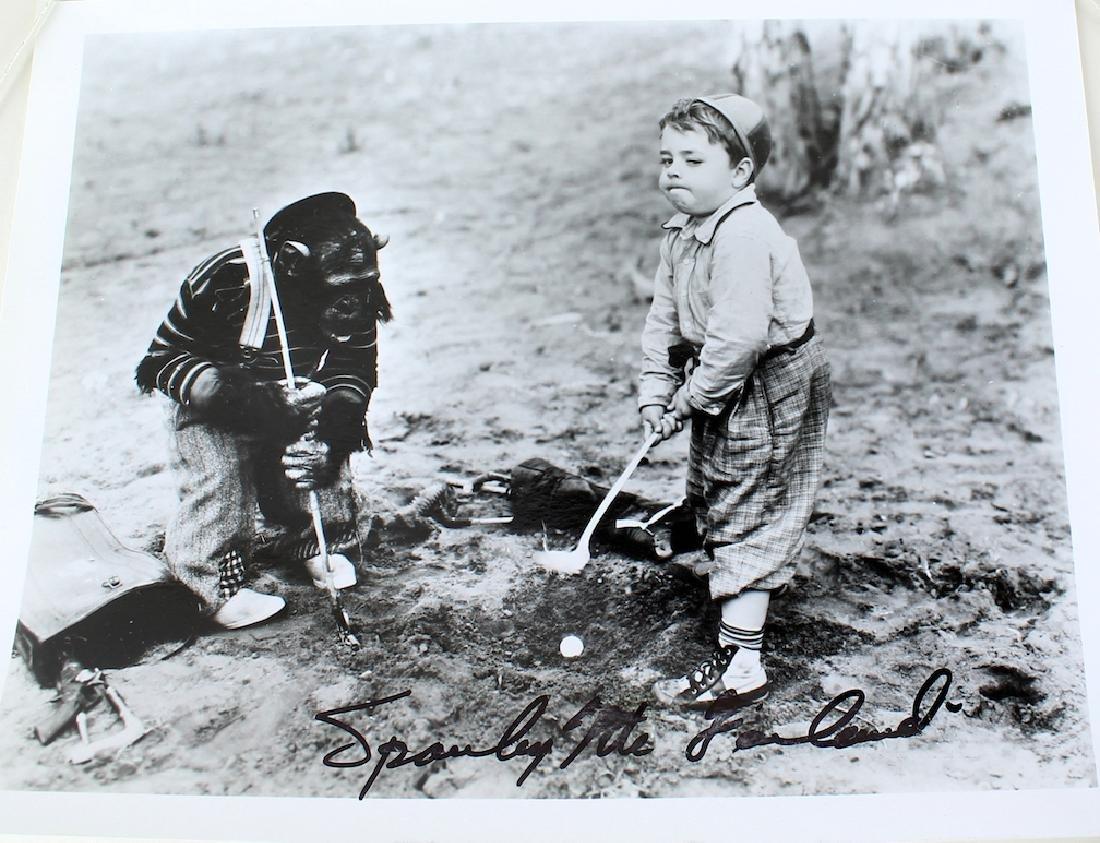 Spanky McFarland Signed Photo Little Rascals