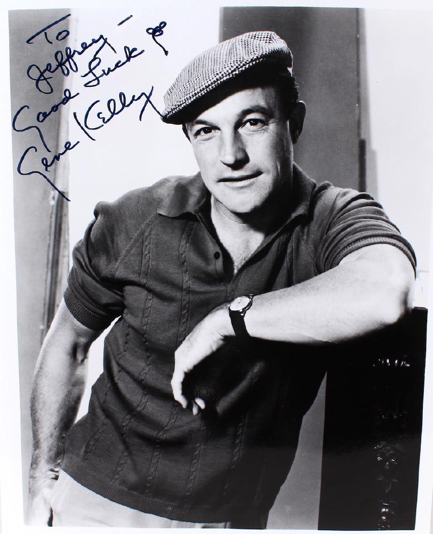 Gene Kelly Signed Photograph