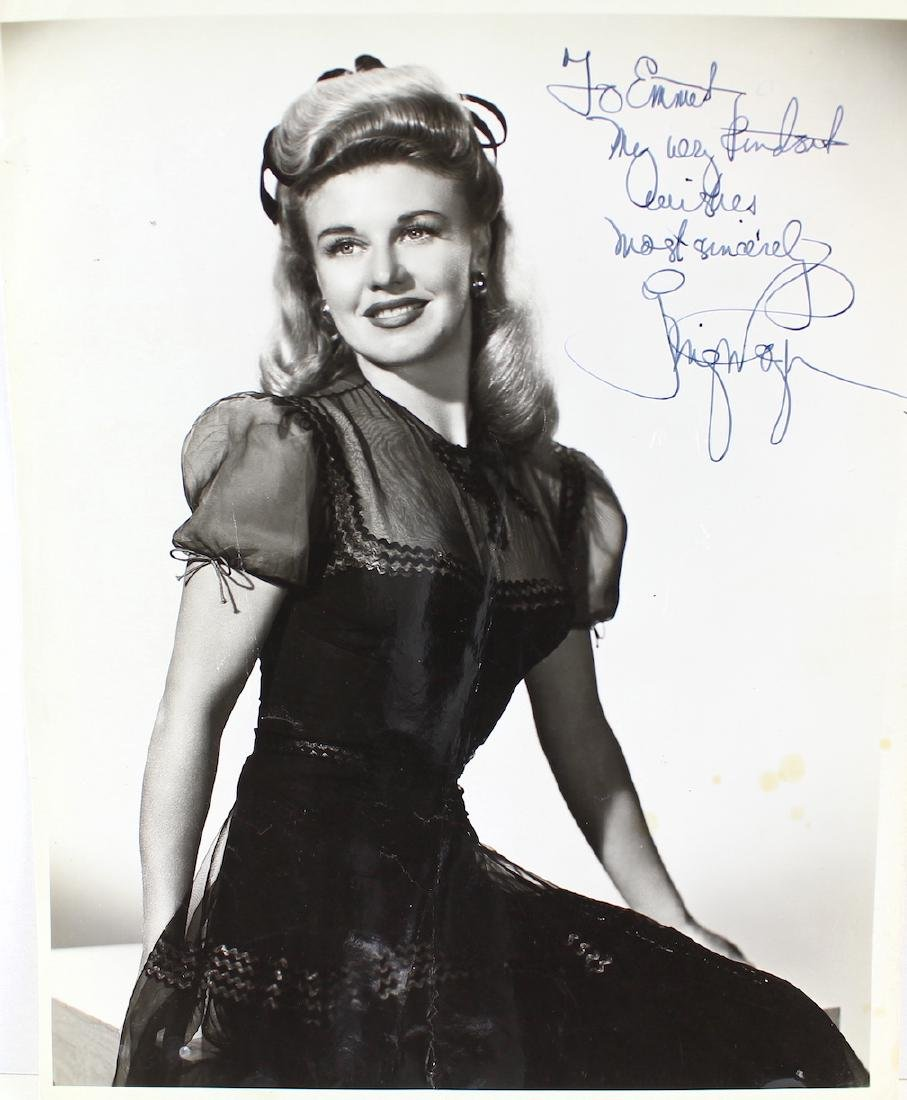 1945 Ginger Rogers Signed Photograph
