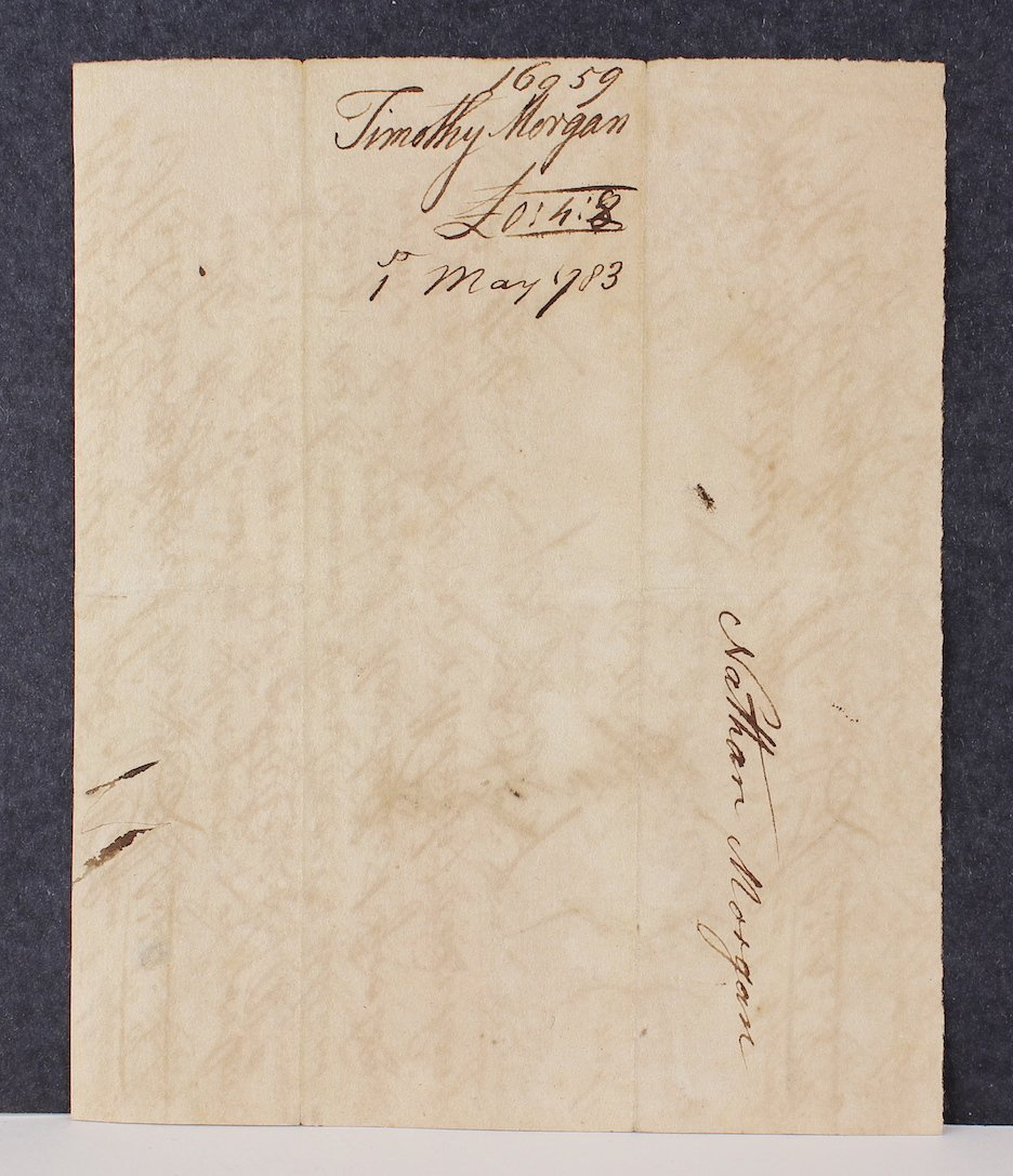 1783 Maj. General Huntington Funds for Court Martial - 2