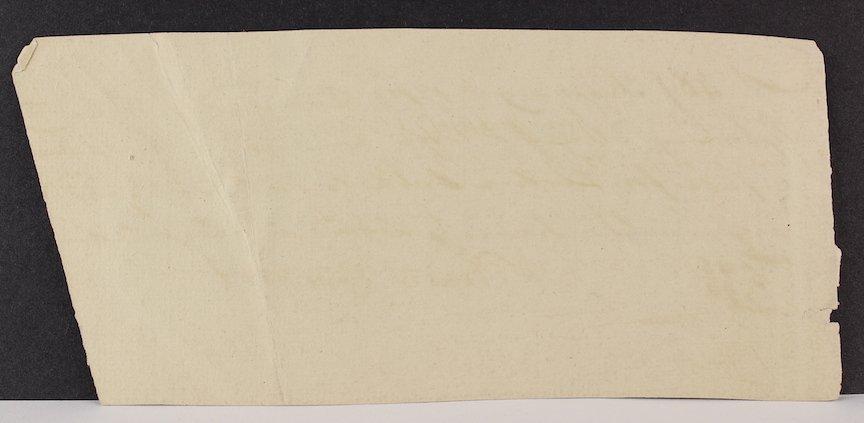 1783 Timothy Pickering Reciept for 12 Bushels of Oats - 2