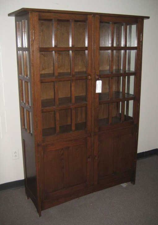 16: ARTS & CRAFTS STYLE BOOKCASE