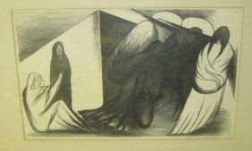 JOSE CLEMENTE OROZCO, MEXICAN (1883-1949)