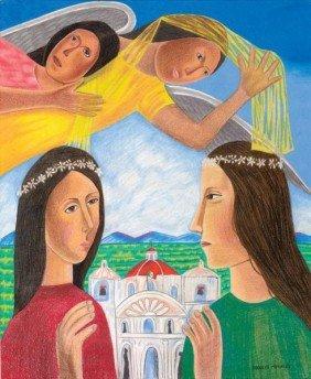 325: RUDOLFO MORALES, MEXICAN (1925-2001)