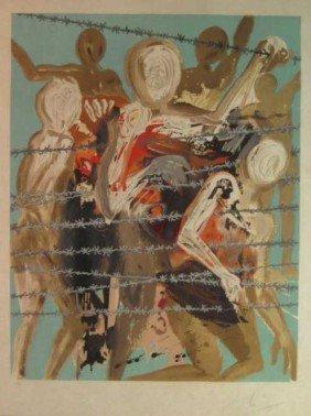 334: ATTRIBUTED TO SALVADOR DALI, SPANISH (1904-1989)