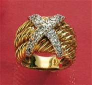 727: DIAMOND RING, DAVID YURMAN