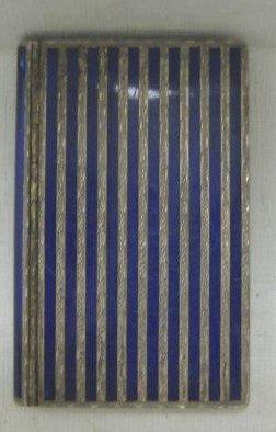 325: AUSTRIAN SILVER AND ENAMEL CARD CASE