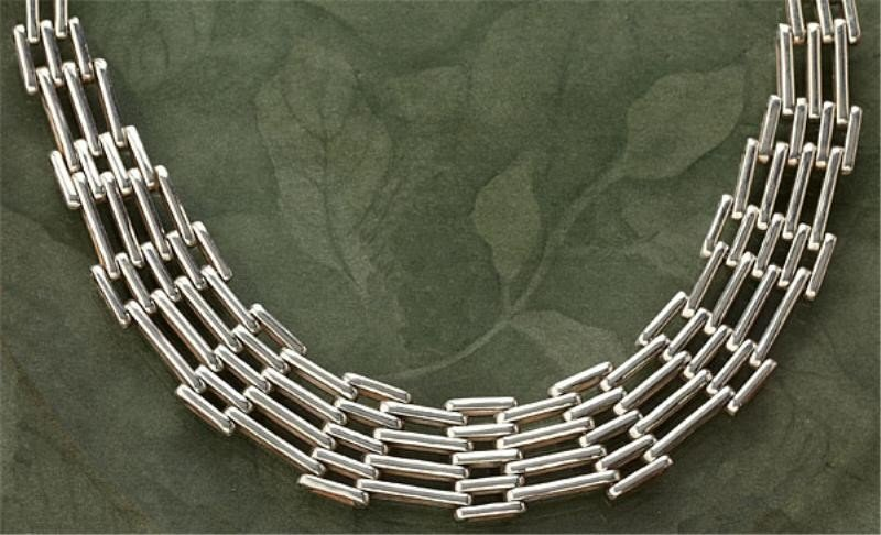 822: MEXICAN SILVER CHAIN NECKLACE