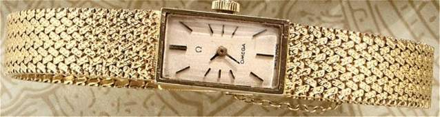 1272 GOLD WATCH OMEGA