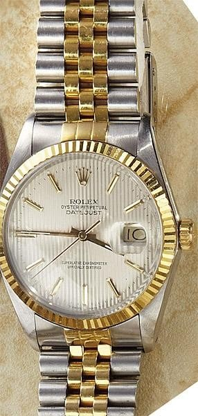 1306: ROLEX STEEL AND GOLD