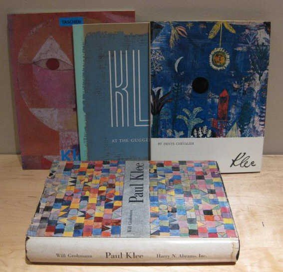 308: PAUL KLEE, FOUR VOLUMES