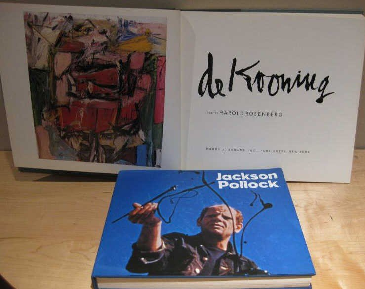 309: DE KOONING AND POLLOCK, TWO VOLUMES