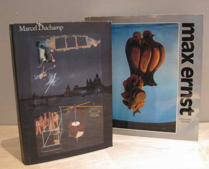 319: MARCEL DUCHAMP AND MAX ERNEST, TWO VOLUMES
