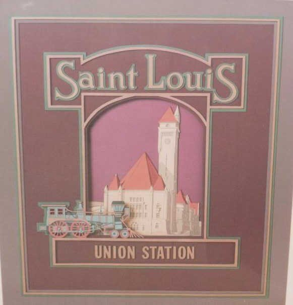 547: TWO SAINT LOUIS POSTERS