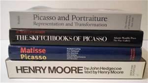 387 FOUR MODERN ART BOOKS