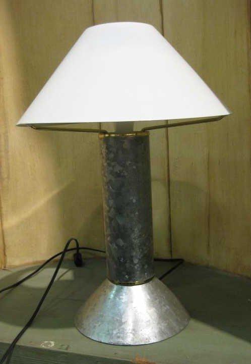 619 Ron Rezek For Artemide Zinc Table Lamp