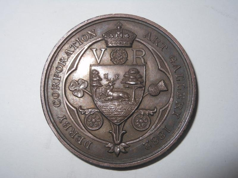 8: DERBY CORPORATION ART GALLERY MEDAL