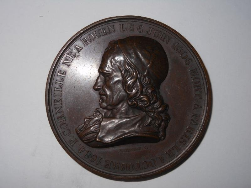 9: ERECTION DE LA STATUE DE PIERRE 1834 MEDAL