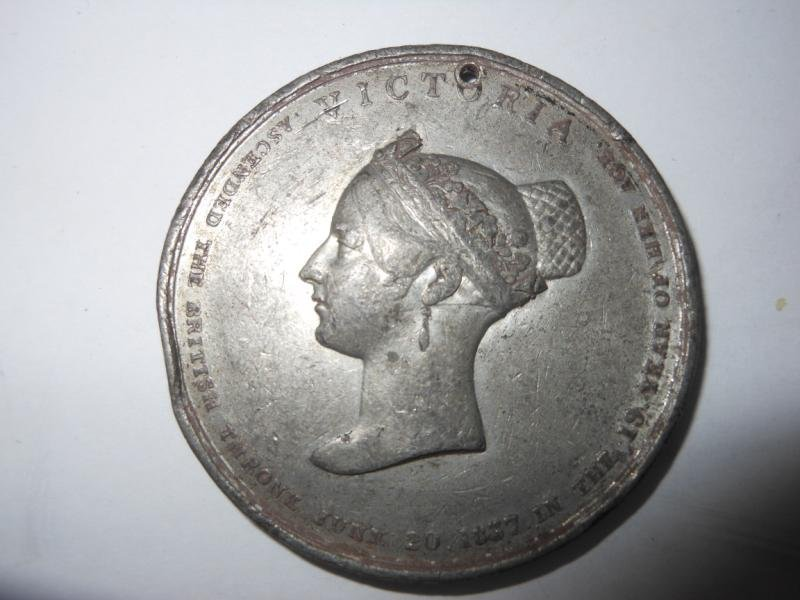 10: QUEEN VICTORIA CORONATION MEDAL