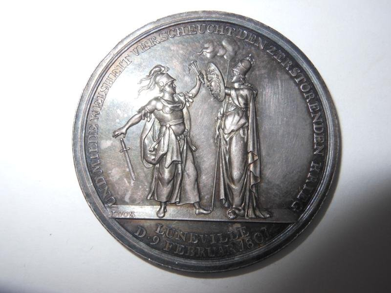 11: TREATY OF LUNEVILLE MEDAL