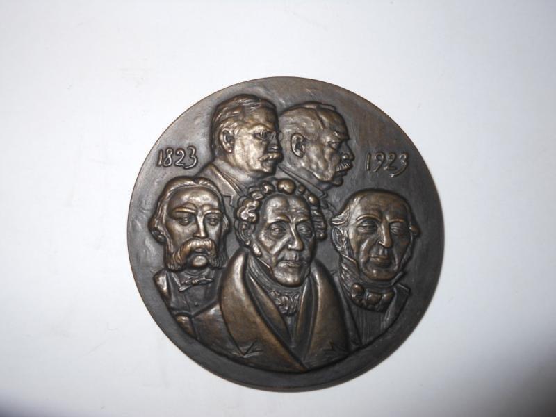 14: P.A. NORSTEDT 1823-1932 BRONZE MEDAL
