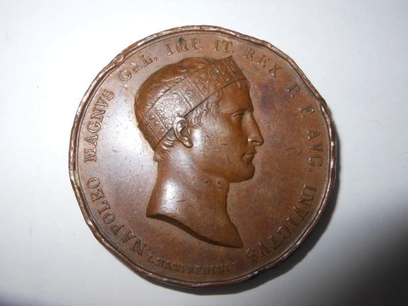 17: BATTLE OF WAGRAM 1809 BRONZE MEDAL
