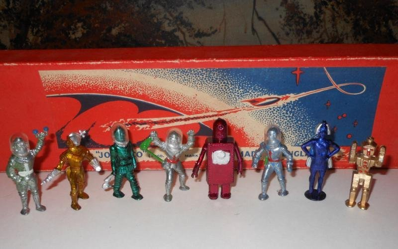 220: JOHILLCO SPACE-MEN FIGURES