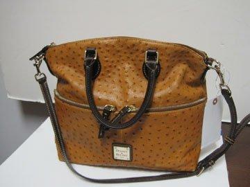 1: Leather Convertible Handbag, Dooney & Bourke