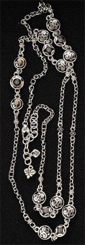 4: Fontina Enamel Chain Necklace, Brighton