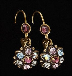 Multi Color Dangling Earrings Michael Negrin