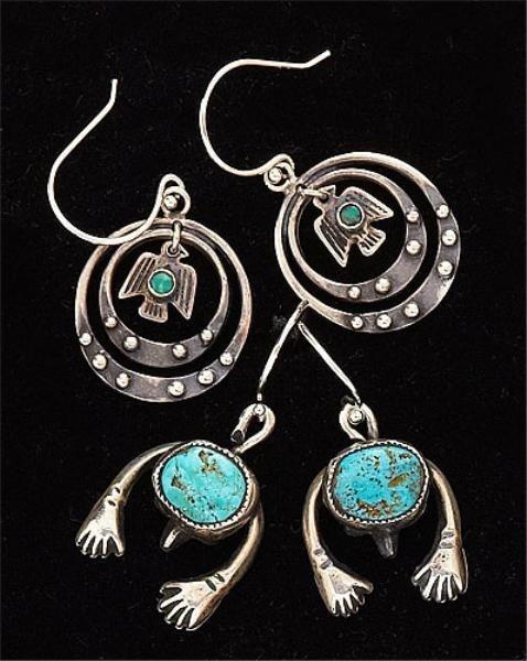 74: Two Pair Sterling Silver Earrings