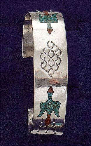 77: Polished Silver Cuff