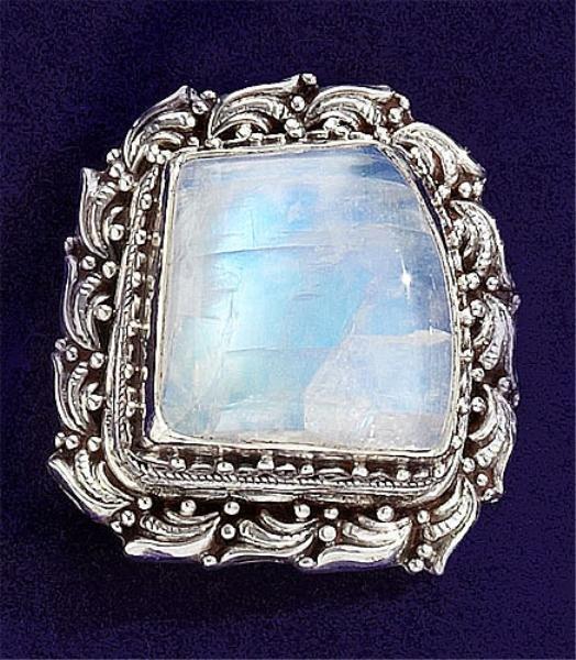 93: Moonstone ring