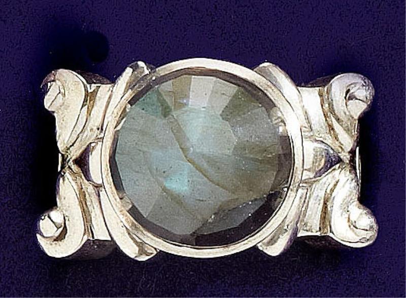97: Labradorite ring