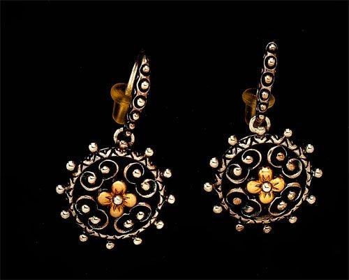 103: Earrings, Barbara Bixby