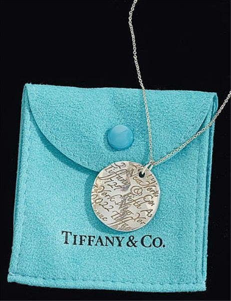106: Notes Pendant, Tiffany & Co.